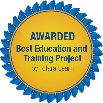 Sandler Online -Best in Education and Training Project - Totara Learn