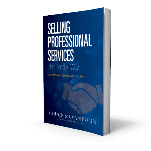 Selling Professional Services The Sandler Way Book