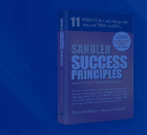Sandler Success Principles Book