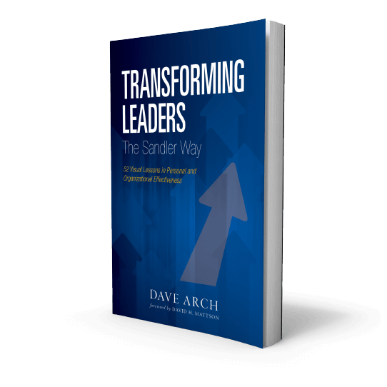 Transforming Leaders The Sandler Way Book